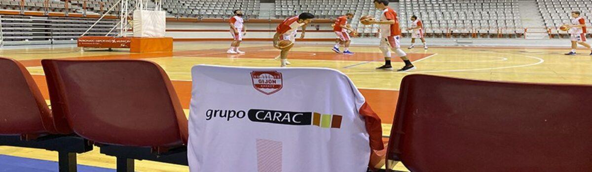 Grupo CARAC con el Gijón Basket en una nueva victoria