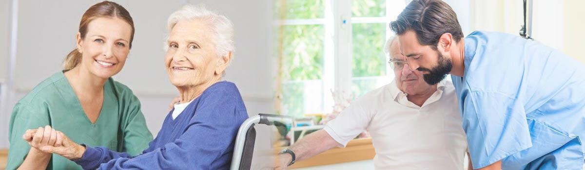 Cuidados auxiliares de enfermería en geriatría